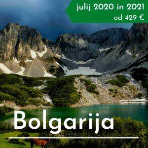 Bolgarija treking potovanje