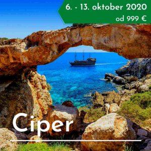 Ciper treking potovanje