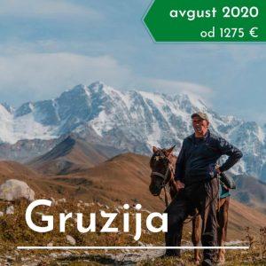 Gruzija treking potovanje
