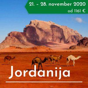 Jordanija treking potovanje
