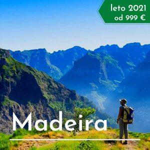 Madeira treking potovanje