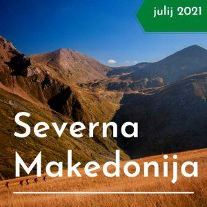 Severna Makedonija treking potovanje