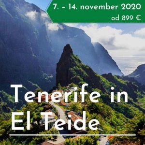 Tenerife treking potovanje
