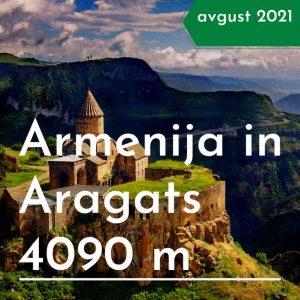 treking potovanje Armenija