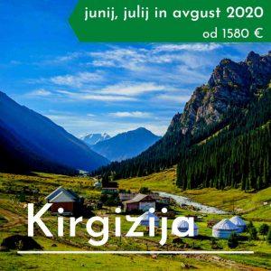 treking potovanje Kirgizija