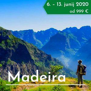 treking potovanje Madeira