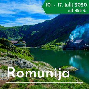 treking potovanje Romunija