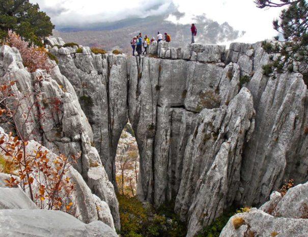 planinsko potovanje črna gora