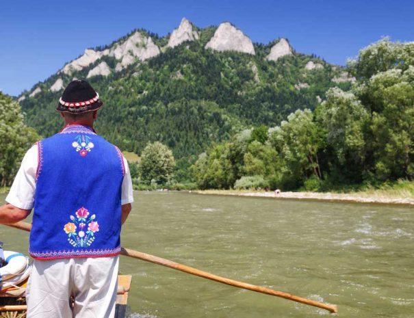 Planinarjenje Slovaška splavarjenje Dunajec