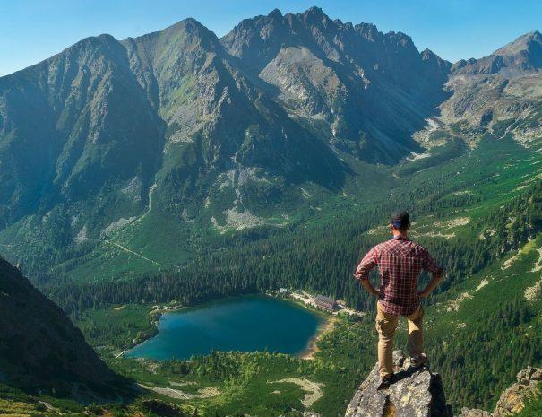 planinarjenje slovaška treking potovanje tatre