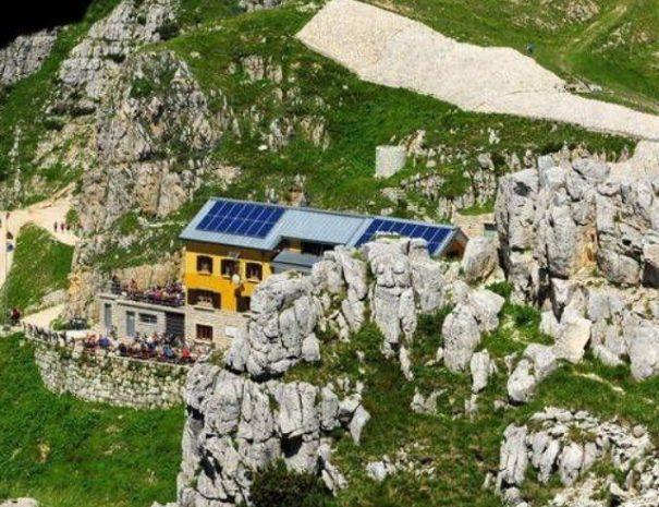 vzpona na monte pasubio rifugio STRADA DELLE 52 GALLERIE