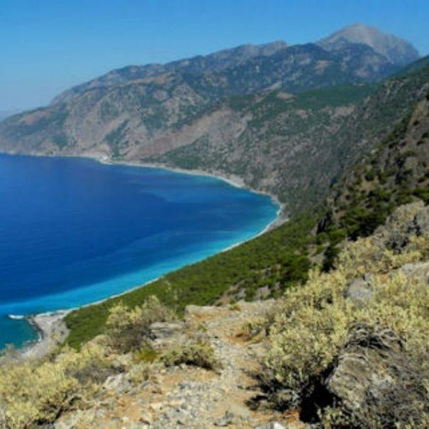 treking potovanje kreta grčija