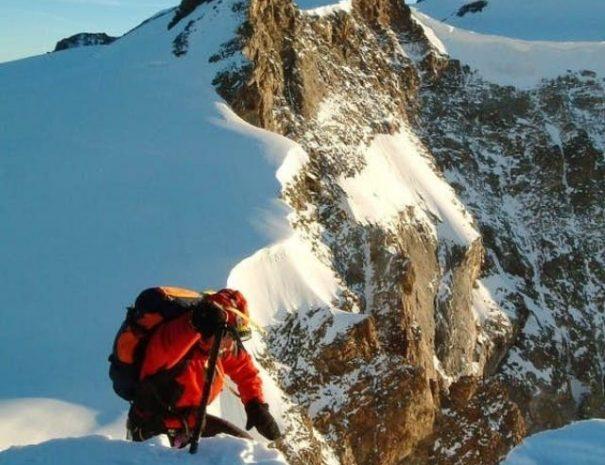 gorski vodnik Piramide Vincent monte rosa