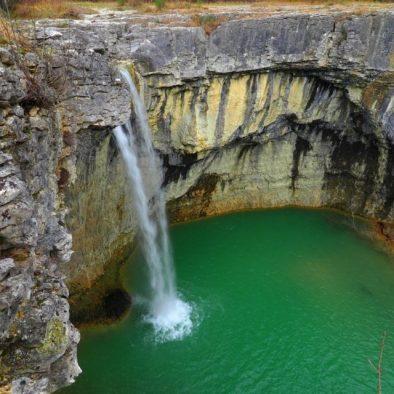 planinarjenje istra slapovi treking