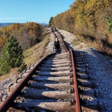 planinski izlet istra pijana železnica